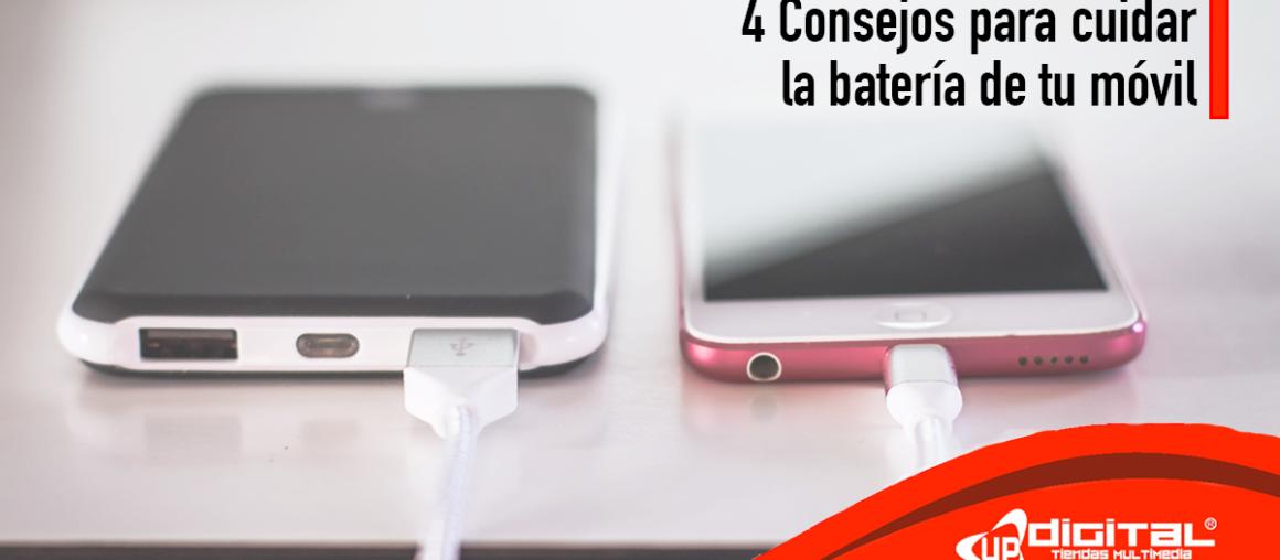 4 Consejos sencillos para que la batería de tu móvil dure más